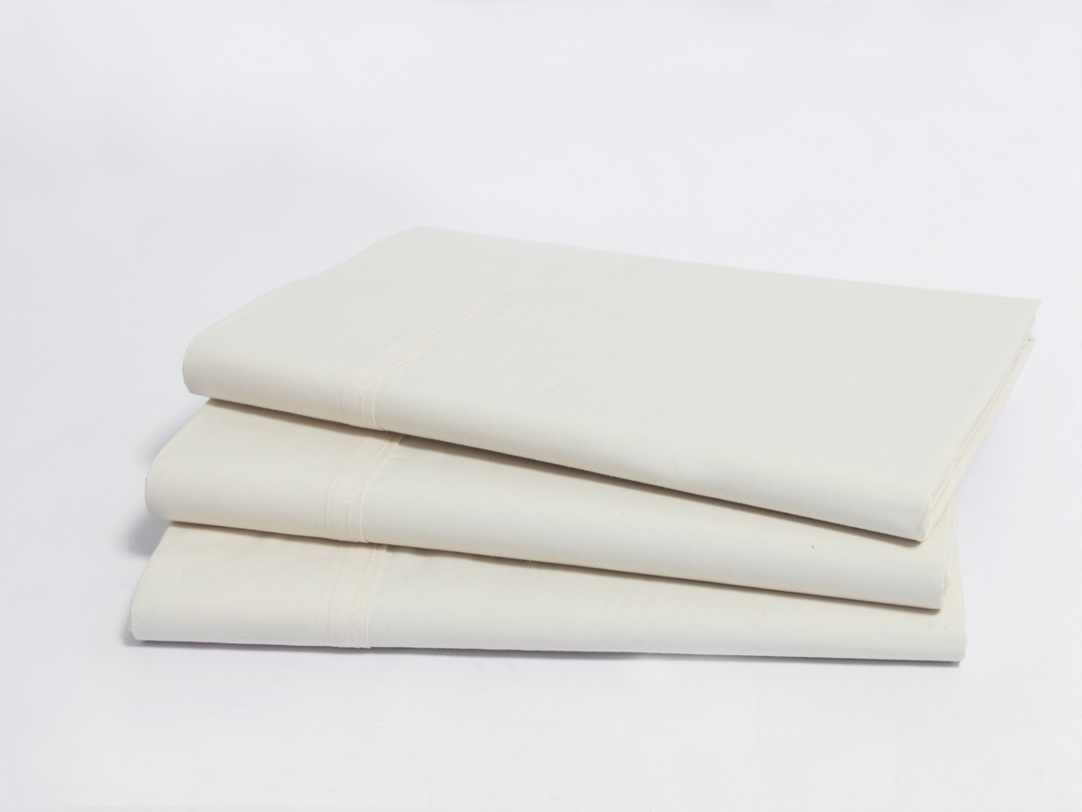 Natural Sateen Organic Flat Sheet
