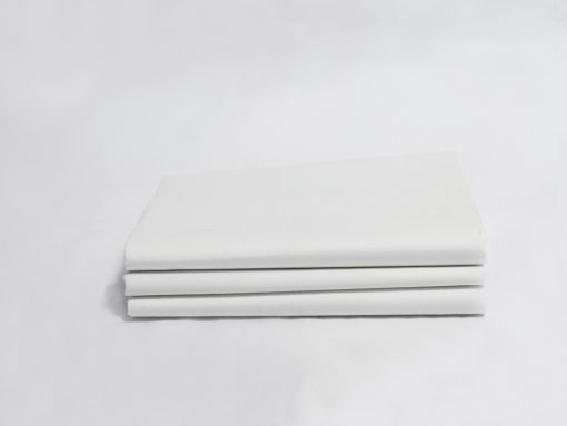 White Sateen Organic Fitted Sheet