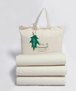 Flannel Organic Fitted Sheet with Reinforced Pockets