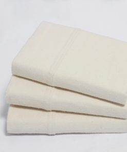 Flannel Organic Pillow Cases