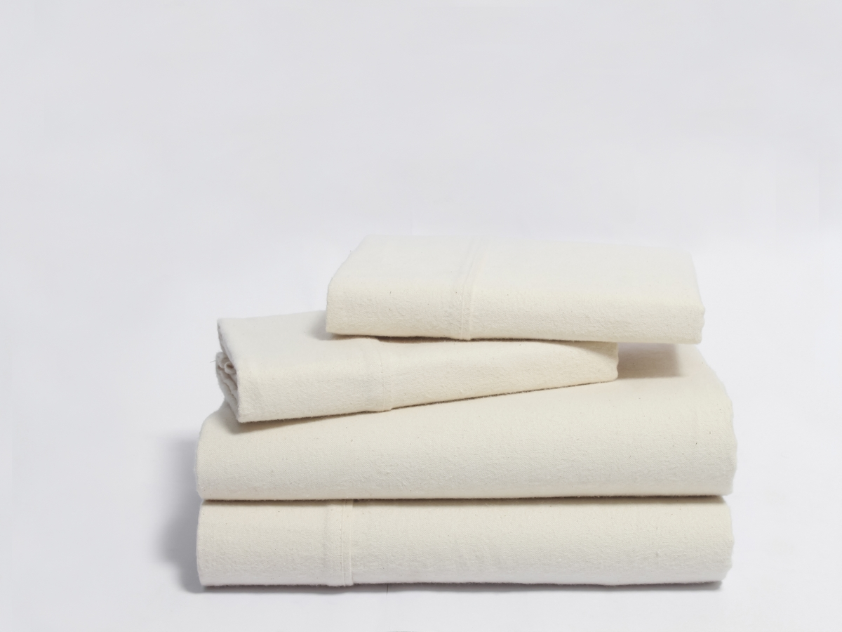 Flannel Z-Hem Organic Sheet Set