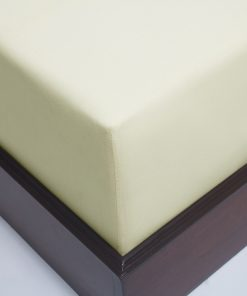 Natural Sateen Organic Fitted sheet