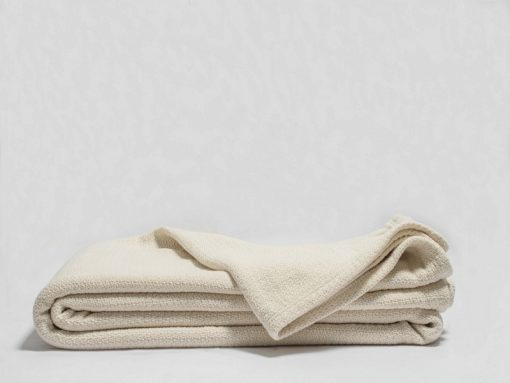 Crepe Weave Organic Throw